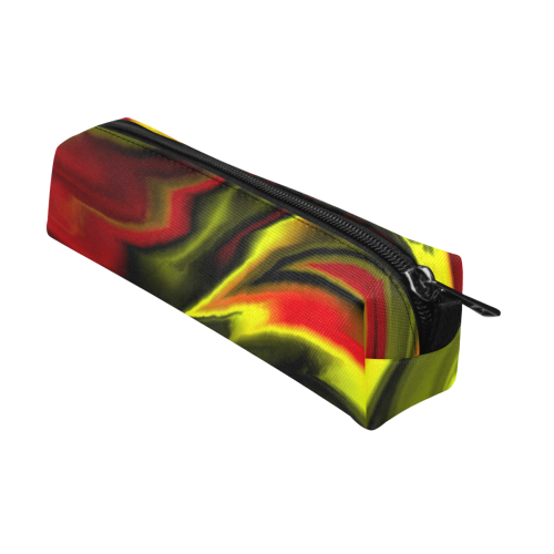 fractal waves B by JamColors Pencil Pouch/Small (Model 1681)