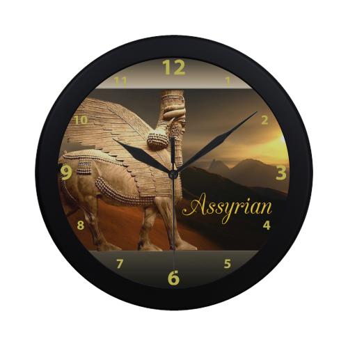 LAMASSU Circular Plastic Wall clock
