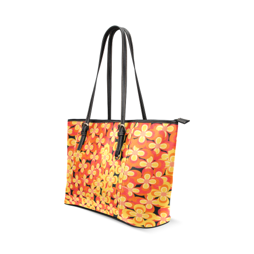 zappwaits k4 Leather Tote Bag/Small (Model 1640)
