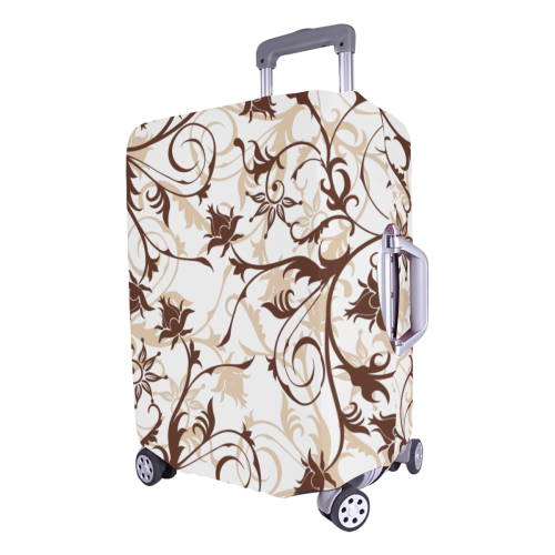 "plants and flowers Luggage Cover/Large 26""-28"""