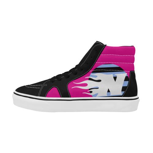 NFW! FUEGO SKATE 1 Men's High Top Skateboarding Shoes (Model E001-1)