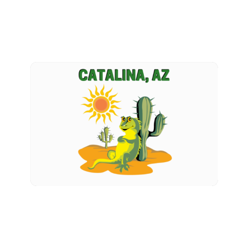"Catalina, Arizona Doormat 24""x16"""