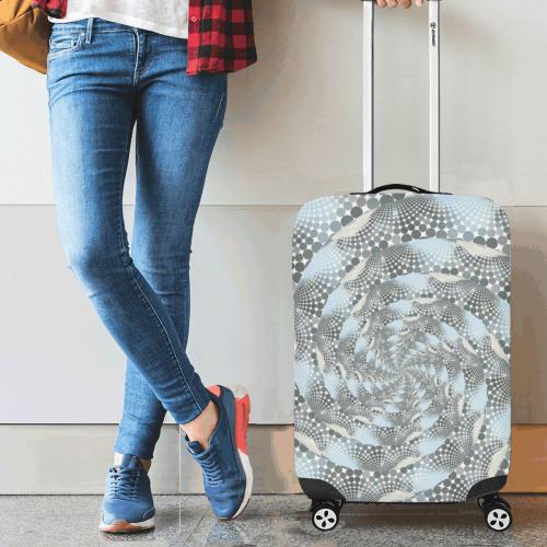"Disco swirls Luggage Cover/Small 18""-21"""