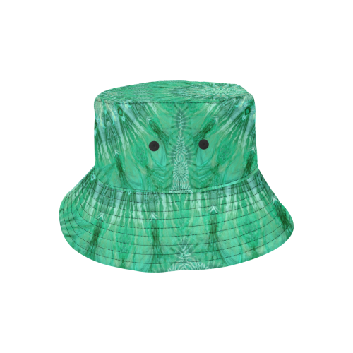 boho green All Over Print Bucket Hat
