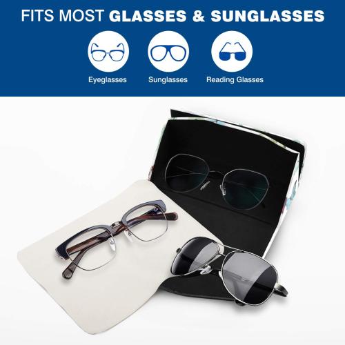 butterfly 4 Custom Foldable Glasses Case