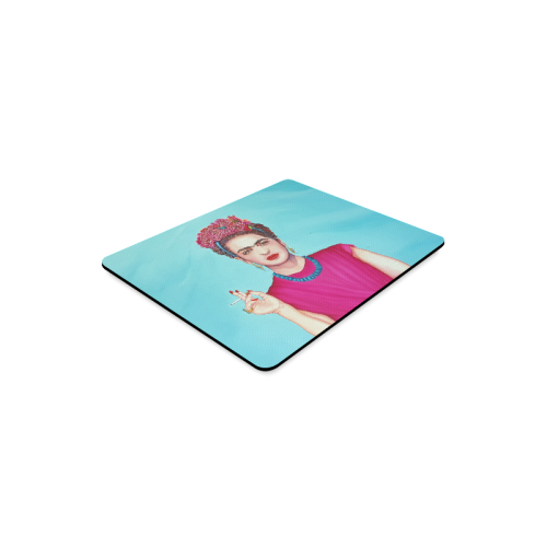 FRIDA IN THE PINK Rectangle Mousepad