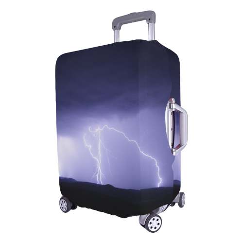 """purple wrath Luggage Cover/Large 26""""-28"""""""