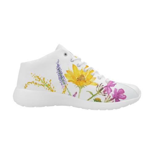 SERIES JASMIN WATERCOLOR FLOWERS II Women's Basketball Training Shoes (Model 47502)