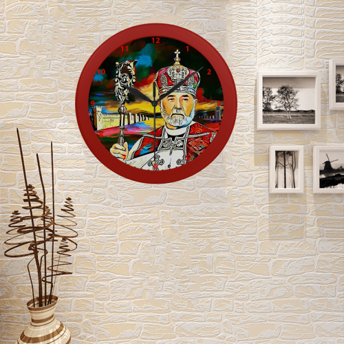 Mar Dinkha IV Circular Plastic Wall clock