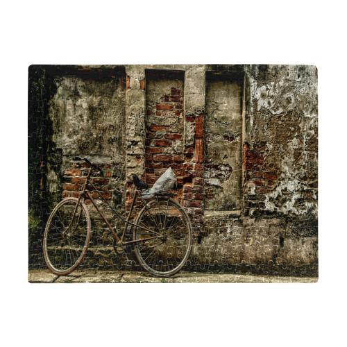 Biker Detor A3 Size Jigsaw Puzzle (Set of 252 Pieces)