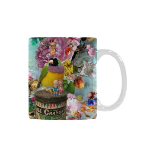 The Secret Garden Custom White Mug (11OZ)