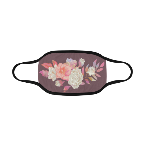iridescent floral arrangement Mouth Mask
