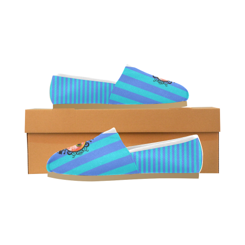 Front_Logo1 Unisex Casual Shoes (Model 004)