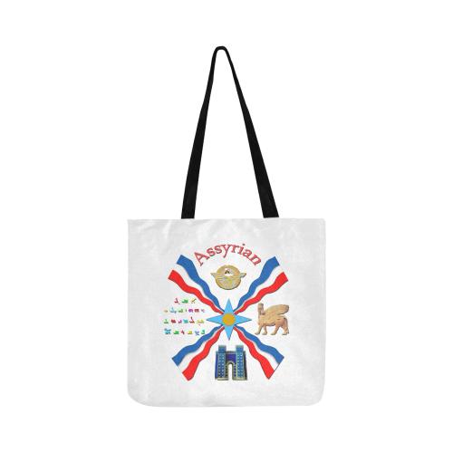 Assyrian Pride Reusable Shopping Bag Model 1660 (Two sides)