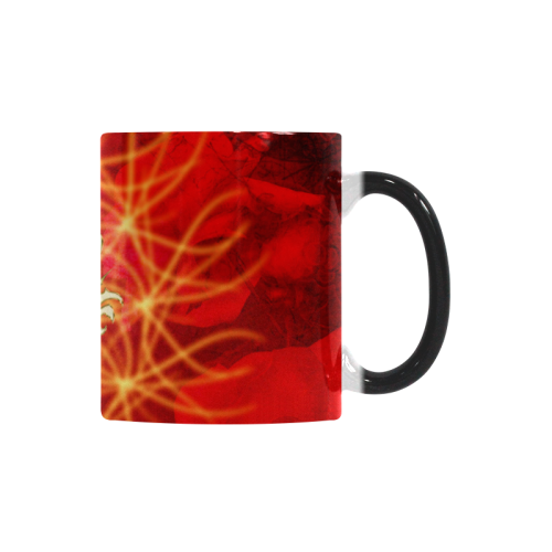 Awesome chinese dragon, gold Custom Morphing Mug (11oz)