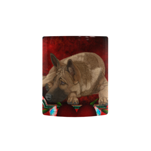 Wonderful german shepherd Custom Morphing Mug (11oz)