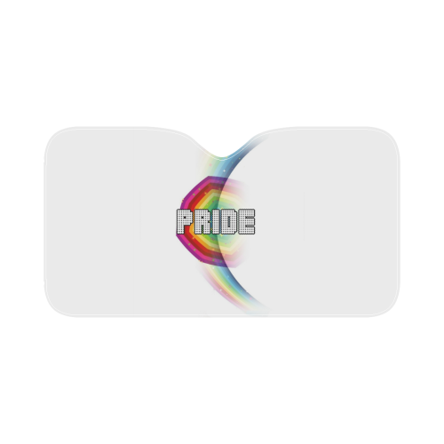 "Pride by Popartlover Car Sun Shade 55""x30"""