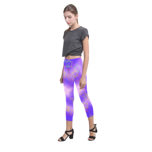 stars Beauty Capri Legging (Model L02)