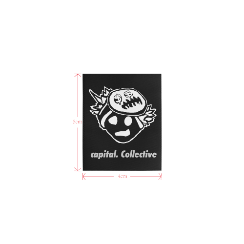 capital. Collective Tag Private Brand Tag on Tops (4cm X 5cm)