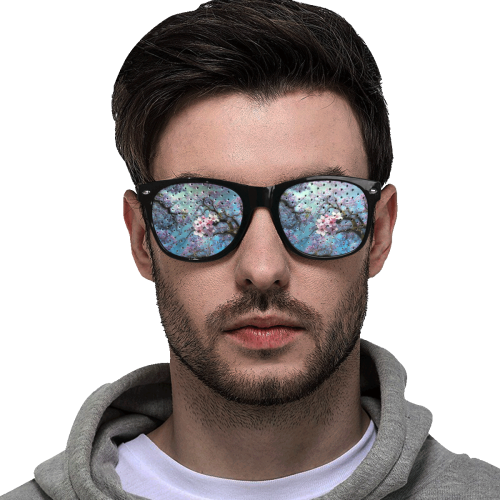 Cherry blossomL Custom Goggles (Perforated Lenses)