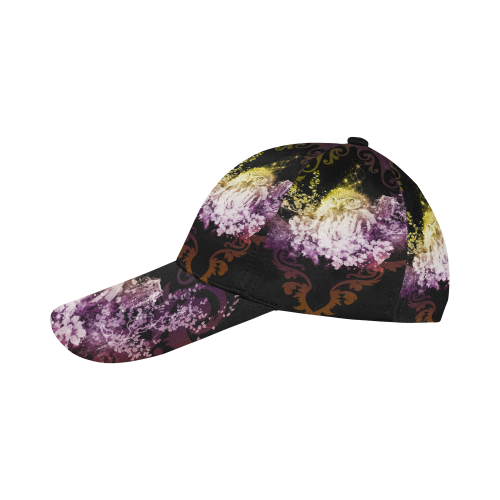 Colorful owls All Over Print Dad Cap C (7-Pieces Customization)