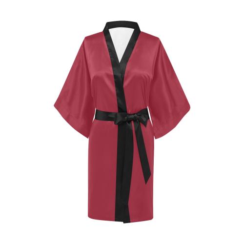Chili Pepper Kimono Robe