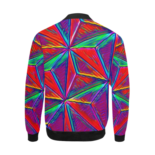 Vivid Life 1A by JamColors All Over Print Bomber Jacket for Men (Model H31)