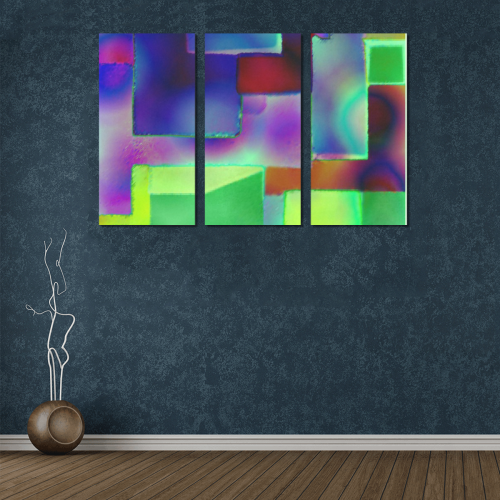 carres 6 Canvas Wall Art X (3 pieces)