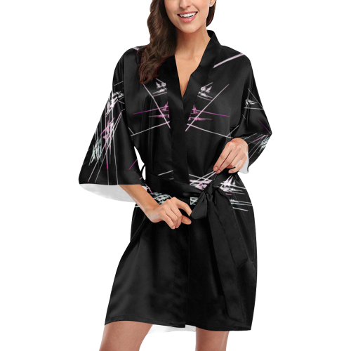flamelines Kimono Robe