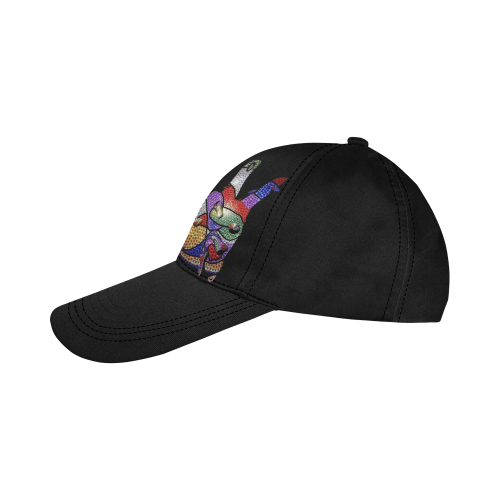 Glitter Peace by Nico Bielow All Over Print Dad Cap C (7-Pieces Customization)